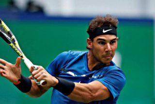 Rafa Nadal vence a Dimitrov en un duelo feroz y alcanza las semifinales de Shanghái