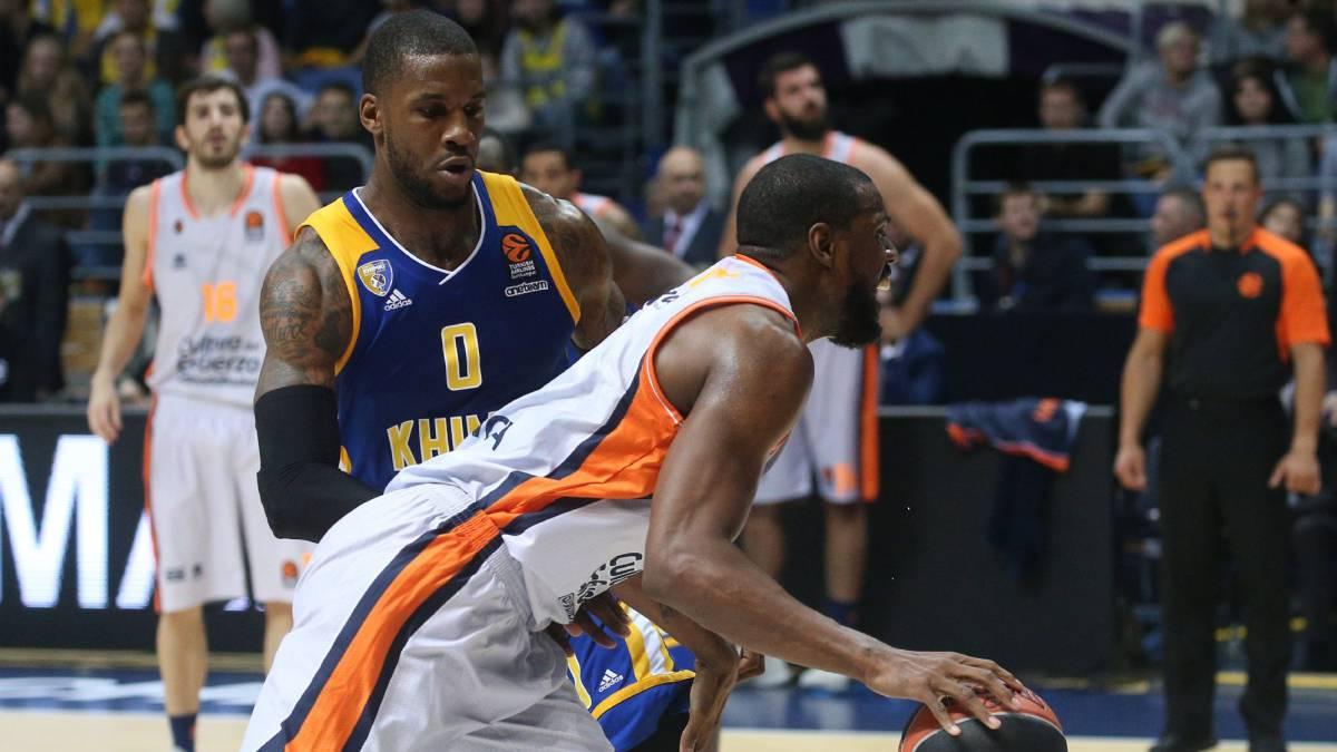 Valencia Basket 'patina' con el Khimki en el debut en Euroliga