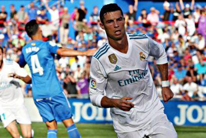 Cuando sus 'haters' ya festejaban, apareció Cristiano Ronaldo y el Real Madrid ganó