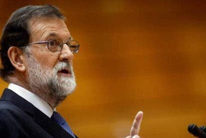 """Mariano Rajoy: """"El Estado de Derecho restaurará la legalidad en Cataluña"""""""