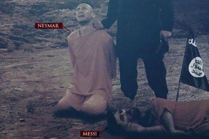 Nueva amenaza del ISIS: Neymar y Messi son los protagonistas