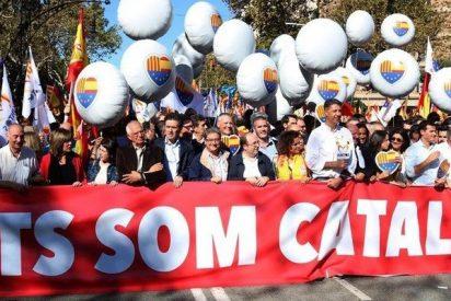 Más de un millón de ciudadanos toman Barcelona en defensa de la unidad de España