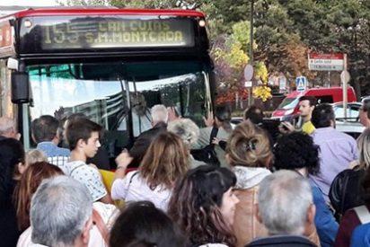 El nivel de tontuna de los independentistas va en aumento: escrachan al autobús 155