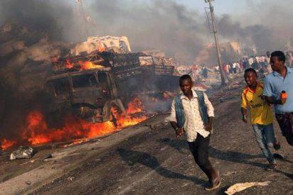 Al menos 25 muertos en un ataque terrorista contra un hotel en Mogadiscio