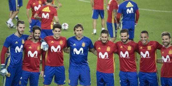 La histórica fotografía de la selección española que homenajea a la Sub-21