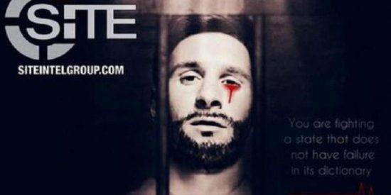 Los terroristas del ISIS amenazan al Mundial de Rusia con una imagen de Messi ensangrentado