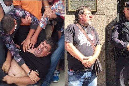 Así acaba la Guardia Civil con las risas del concejal republicano que llevaba nariz de payaso