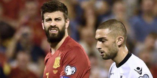 El patético montaje de TVE para disimular la tremenda pitada a Piqué en el España-Albania