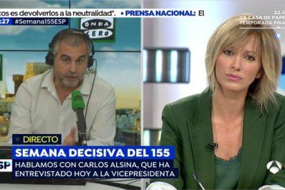 """Carlos Alsina, sobre TV3: """"No se trata de intervenir un medio de comunicación, sino de cambiar a los directivos que son los que marcan la línea editorial"""
