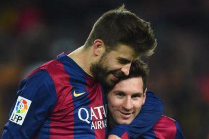Piqué trolea a Messi: «No paramos de adoctrinar a los niños en Cataluña»