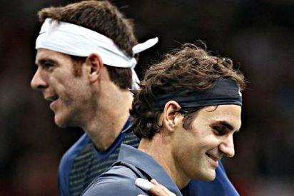 Federer y Del Potro pelearán por un puesto en la final del torneo de Shanghai