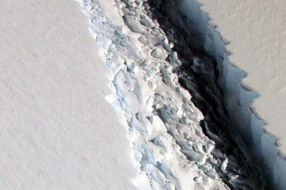 [VIDEO] Iceberg se parte y desvela un ecosistema oculto durante más de cien mil años