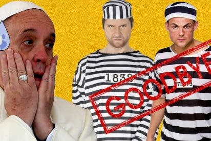 [VIDEO] Se fugan dos presos que el Papa Francisco había invitado a almorzar