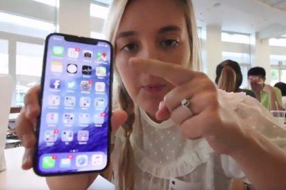 [VIDEO] Apple despide a un empleado cuya hija filmó este vídeo sobre el iPhone X