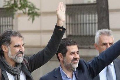 La juez manda a prisión incondicional a los dos Jordis', los líderes de ANC y Òmnium