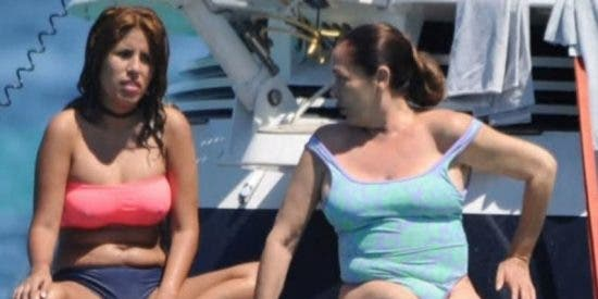 ¡HORROR!: Las lorzas de Isabel Pantoja que Photoshop nos ocultó