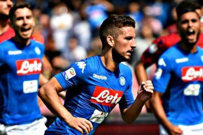 El Nápoles defiende liderato ante la Roma y el Inter se la juega en el derbi de Milán