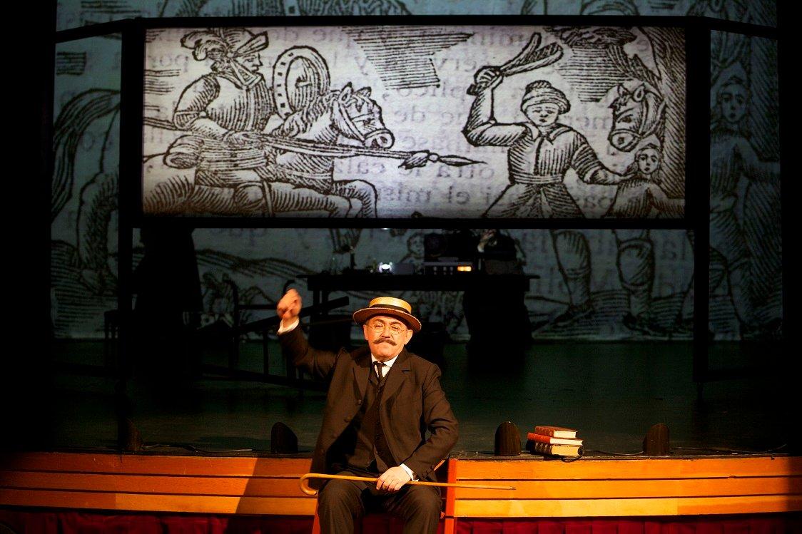 La ruta (teatral) de Don Quijote