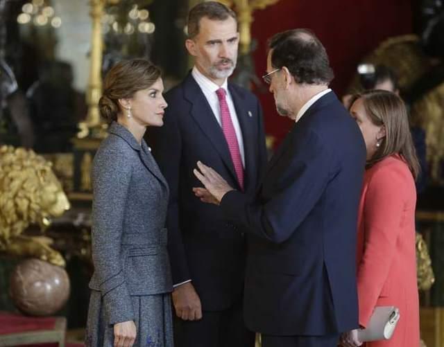 La recepción en el Palacio Real al detalle
