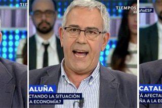 Entre la rabia y las lágrimas: el valiente mensaje de Toni Bolaño contra el independentismo que destroza Cataluña
