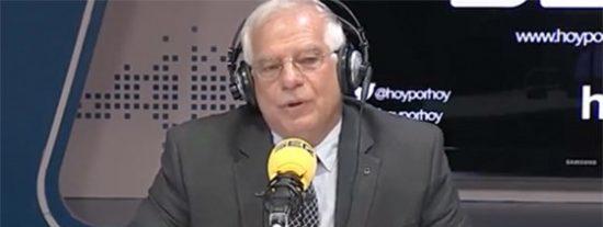 """La profecía cumplida de Borrell: """"Van a impedir la tragedia, pero continuarán la comedia"""""""