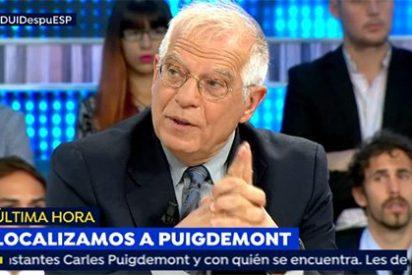 El tremendo golpe de Borrell a los podemitas independentistas Colau y Fachín