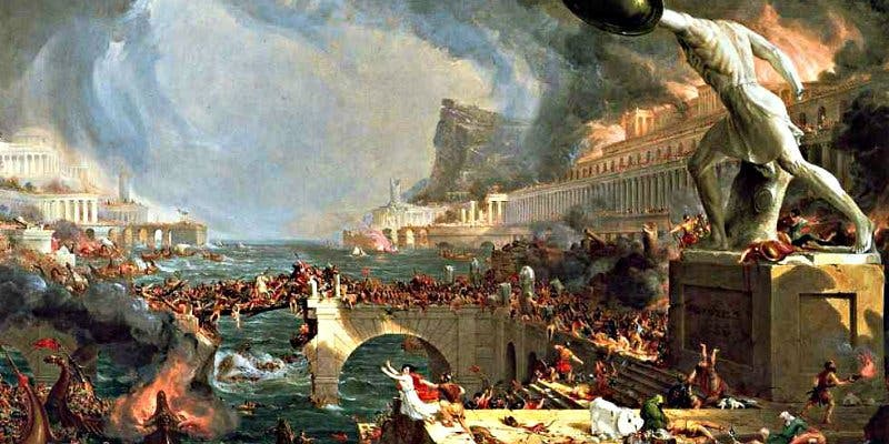 No fueron los bárbaros lo que acabó con el Imperio Romano, sino el cambio climático