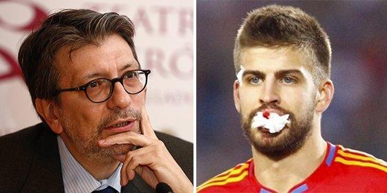 Ignacio Camacho se harta de las humillaciones a los símbolos españoles y le enseña a Piqué la puerta de salida de la Selección