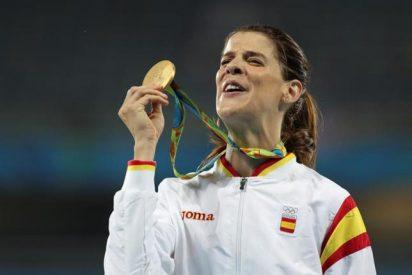[VIDEO] La campeona olímpica Ruth Beitia se retira