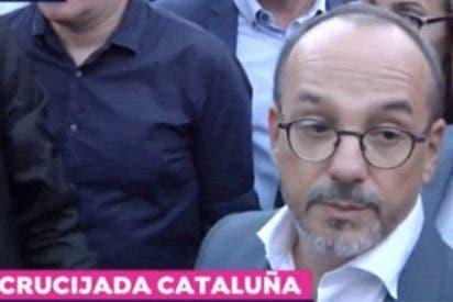 Nacho Abad ridiculiza al descarado Campuzano por no censurar los ataques a la Guardia Civil