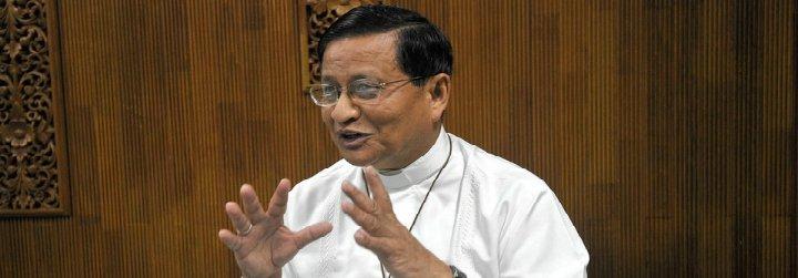 """Cardenal Bo: """"Tenemos que decirle al mundo que está surgiendo un nuevo Myanmar, lleno de generosidad y esperanza"""""""
