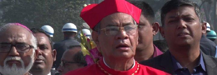 """Cardenal D'Rozario: """"El Papa nos recuerda que en una situación trágica prima lo humano, no lo político"""""""