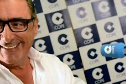 """Herrera se descojona de la """"butifarrada de la dignidad"""" en apoyo de 'Los Jordis': """"¡Cómo pueden caer tan bajo!"""""""