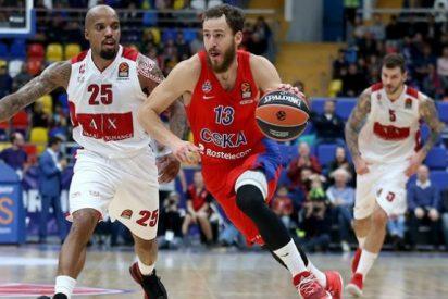 El ex madridista Sergio Rodríguez tiene un gran debut con el CSKA en la Euroliga