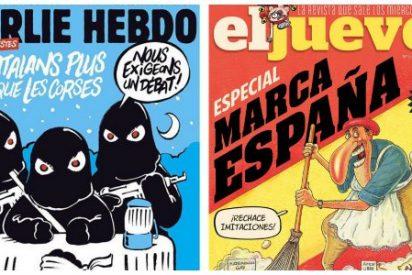 Charlie Hebdó llama 'gilipollas' a los 'catabatasunos' y El Jueves se arruga de nuevo
