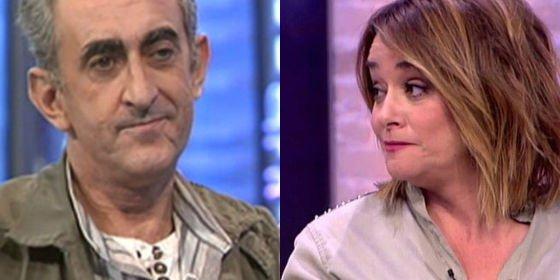 """Toñi Moreno, machacada por su entrevista a Chapis: """"¿Tu padre murió electrocutado? ¿Tu novia te dejó?"""""""