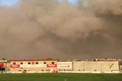 [VIDEO] El Coruxo más solidario acoge en su estadio a 400 desalojados por los incendios