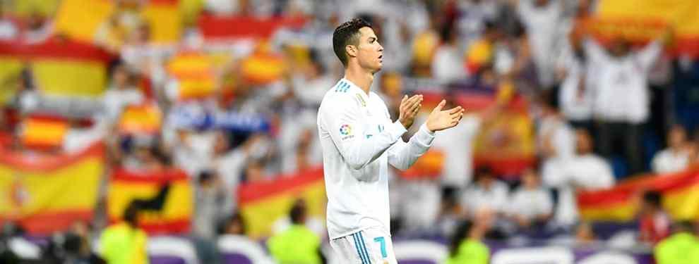 ¡Cristiano Ronaldo amenaza con irse del Real Madrid si el Barça deja la liga española!