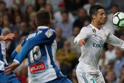 Cristiano Ronaldo la lía en el vestuario al final del Real Madrid-Espanyol ¡y acusa a dos jugadores!