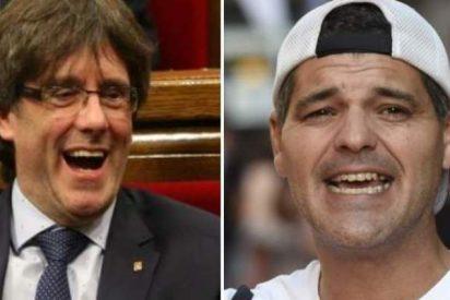 """Frank Cuesta lamenta que """"un tío con fregona en la cabeza"""" cope la TV y no el drama del fuego en Galicia"""