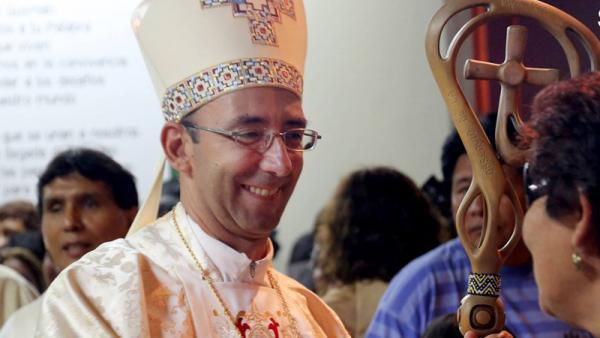 """""""Estamos en una tierra que necesita de la bendición del Papa"""""""