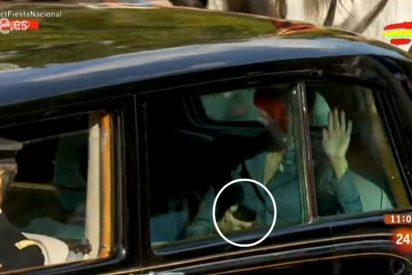 El detalle de la Reina Letizia en el desfile que saca de sus casillas a muchos