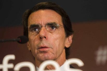 """Aznar: """"Los secesionistas entienden como debilidad los silencios del Gobierno de España"""""""