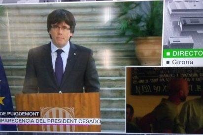 Cachondeo generalizado en twitter por lo que se ha visto en laSexta mientras largaba Puigdemont