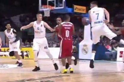 [VIDEO] ¿Será esta la canasta del año en la Euroliga de Baloncesto?
