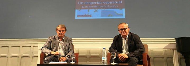 Pablo D'Ors, el cura novelista que contagia entusiasmo