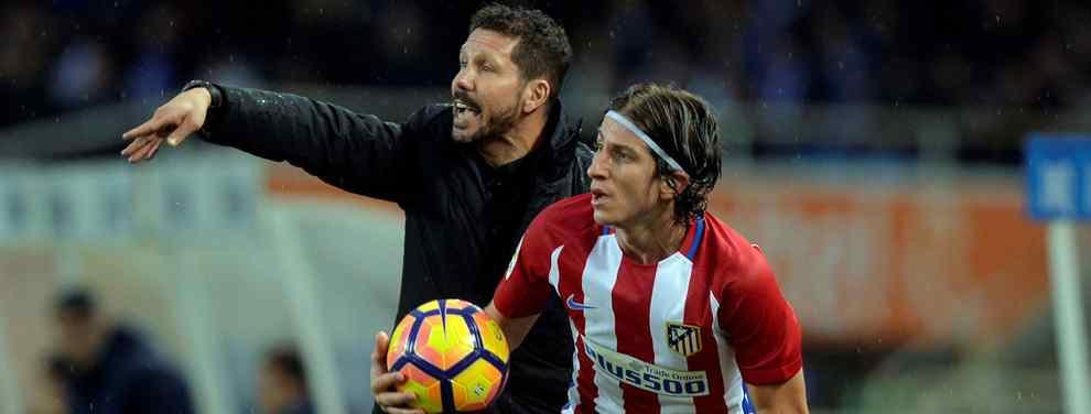 El Cholo Simeone encuentra al relevo ideal para Filipe Luis en el Atlético