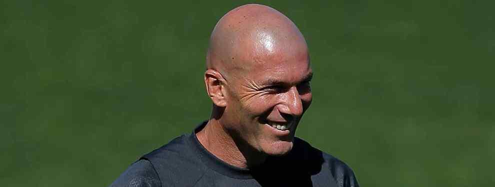 El galáctico que llama a Zinedine Zidane para cerrar su fichaje por el Real Madrid