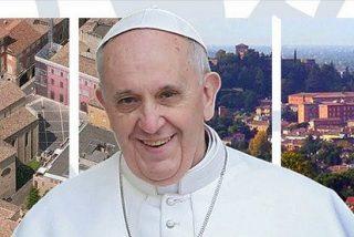 """El Papa en Cesena: """"Una política que no sea ni sierva ni dueña, sino amiga y colaboradora"""""""