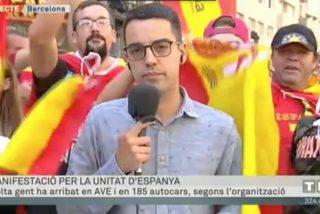 TV3 y sus micrófonos negros